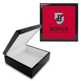 Ebony Black Accessory Box With 6 x 6 Tile-Boyce Primary Mark Vertical