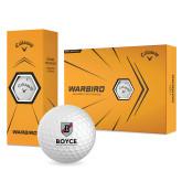 Callaway Warbird Golf Balls 12/pkg-Boyce Primary Mark Vertical