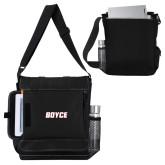 Impact Vertical Black Computer Messenger Bag-Boyce