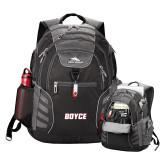 High Sierra Big Wig Black Compu Backpack-Boyce