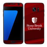 Samsung Galaxy S7 Edge Skin-University Mark Vertical