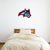 1 ft x 1 ft Fan WallSkinz-Wolfie Head