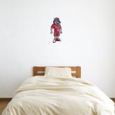 1 ft x 1 ft Fan WallSkinz-Illustrated Soccer Wolfie
