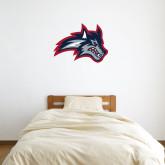 2 ft x 2 ft Fan WallSkinz-Wolfie Head