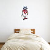 2 ft x 2 ft Fan WallSkinz-Illustrated Football Wolfie