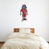 2 ft x 3 ft Fan WallSkinz-Illustrated Soccer Wolfie