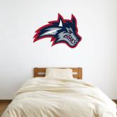 3 ft x 3 ft Fan WallSkinz-Wolfie Head