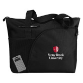 Excel Black Sport Utility Tote-University Mark Vertical
