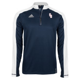 Adidas Modern Navy Varsity 1/4 Zip-Interlocking SB