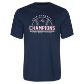 Performance Navy Tee-2019 America East Baseball Champions