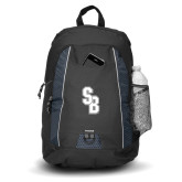 Impulse Black Backpack-Interlocking SB