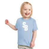 Toddler Light Blue T Shirt-Interlocking SB