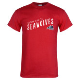 Red T Shirt-Stony Brook Seawolves, Personalized Year