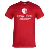 Red T Shirt-University Mark Vertical