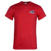 Red T Shirt-Wolfie Head