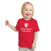 Toddler Red T Shirt-University Mark Vertical