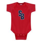 Red Infant Onesie-Interlocking SB