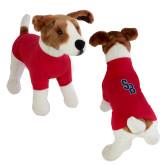 Classic Red Dog T Shirt-Interlocking SB