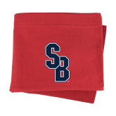 Red Sweatshirt Blanket-Interlocking SB