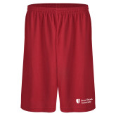 Performance Classic Red 9 Inch Short-University Mark Stacked