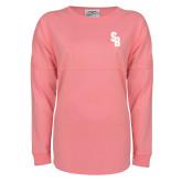 Pink Game Day Jersey Tee-Interlocking SB