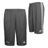 Adidas Climalite Charcoal Practice Short-Wolfie Head