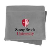 Grey Sweatshirt Blanket-University Mark Vertical