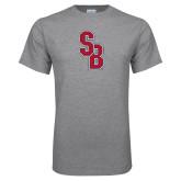 Grey T Shirt-Interlocking SB
