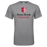 Grey T Shirt-University Mark Vertical