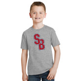 Youth Grey T Shirt-Interlocking SB