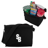 Six Pack Black Cooler-Interlocking SB