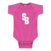 Fuchsia Infant Onesie-Interlocking SB