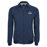 Navy Players Jacket-Wolfie Head and Stony Brook Seawolves