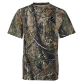 Realtree Camo T Shirt-Interlocking SB