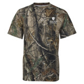 Realtree Camo T Shirt-University Mark Vertical