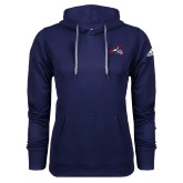 Adidas Climawarm Navy Team Issue Hoodie-Wolfie Head
