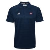 Adidas Climalite Navy Jacquard Select Polo-Wolfie Head