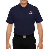 Under Armour Navy Performance Polo-Wolfie Head and Stony Brook