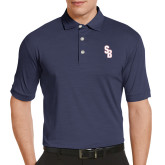 Callaway Tonal Navy Polo-Interlocking SB