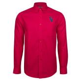 Red House Red Long Sleeve Shirt-Interlocking SB
