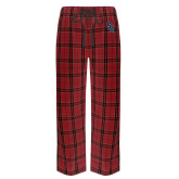 Red/Black Flannel Pajama Pant-Interlocking SB