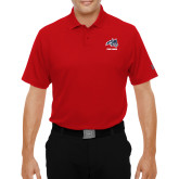 Under Armour Red Performance Polo-Wolfie Head and Stony Brook