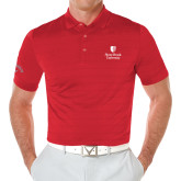 Callaway Opti Vent Red Polo-University Mark Vertical