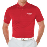 Callaway Opti Vent Red Polo-University Mark Stacked