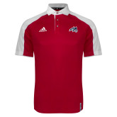 Adidas Modern Red Varsity Polo-Wolfie Head