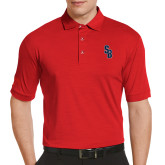 Callaway Tonal Red Polo-Interlocking SB