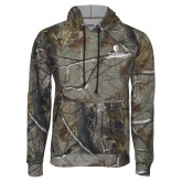 Realtree Camo Fleece Hoodie-University Mark Vertical