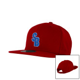 New Era Red Diamond Era 9Fifty Snapback Hat-Interlocking SB