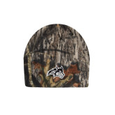 Mossy Oak Camo Fleece Beanie-Wolfie Head