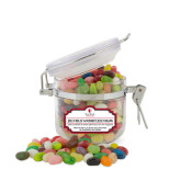 Jelly Belly Small Round Canister-University Mark Vertical